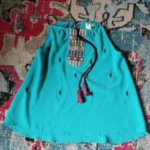 Boutique Embroidered Tank